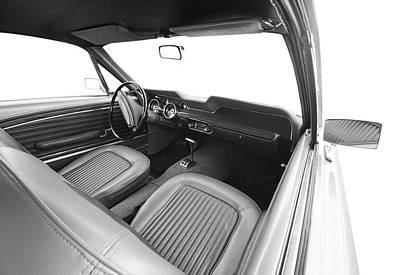 Retro Classic Car Interior Original