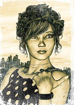 Af Vogue - Retro Girl by Design Windmill