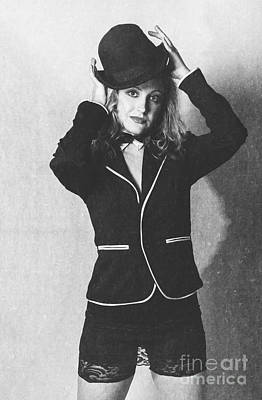 Retro Portrait Of Beautiful Woman In Vintage Hat Art Print by Jorgo Photography - Wall Art Gallery