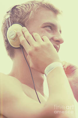 Photograph - Retro Summer Dj At Music Festival by Jorgo Photography - Wall Art Gallery