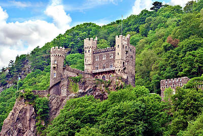Stock Nature Photograph - Rheinland-pflaz, Germany, Castle by Miva Stock