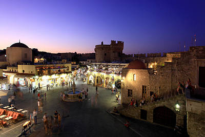 Rhodes Old Town Art Print by Ollie Taylor