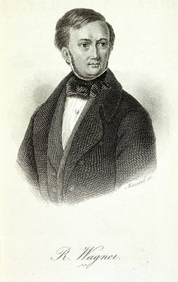 Wagner Photograph - Richard Wagner by British Library