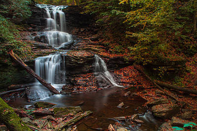 Photograph - Ricketts Glen by Jahred Allen