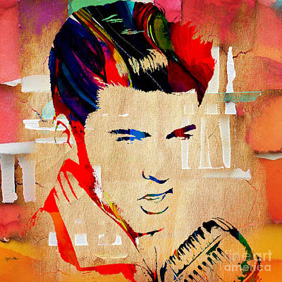 Guitar Mixed Media - Ricky Nelson Collection by Marvin Blaine