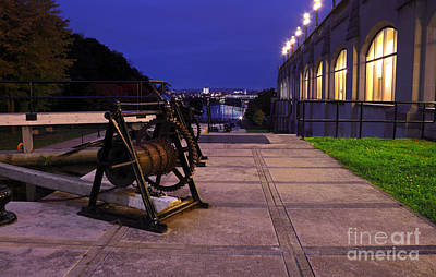 Photograph - Rideau Canal Night by Charline Xia