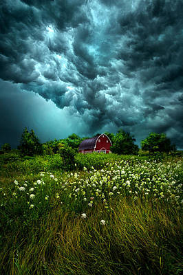 Field. Cloud Photograph - Riding The Storm Out by Phil Koch