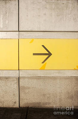 Directional Signage Photograph - Right Direction Wall by Jorgo Photography - Wall Art Gallery