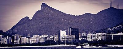 Photograph - Rio De Janeiro Cityscape by Celso Diniz