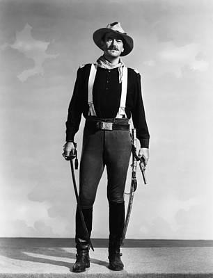 1950 Movies Photograph - Rio Grande, John Wayne, 1950 by Everett