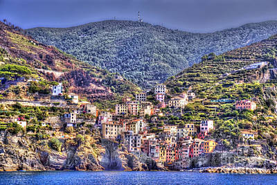 Photograph - Riomaggiore 5 by Rod Jones