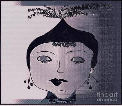 Rita Art Print by Iris Gelbart