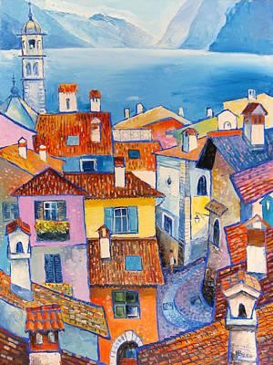 Riva Del Garda Art Print