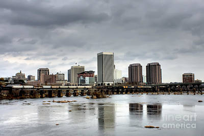 Richmond Va Photograph - River City On The James by Tim Wilson