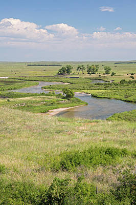 Loup Photograph - River In The Nebraska Sandhills by Jim West