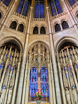 Photograph - Riverside Church by Cornelis Verwaal