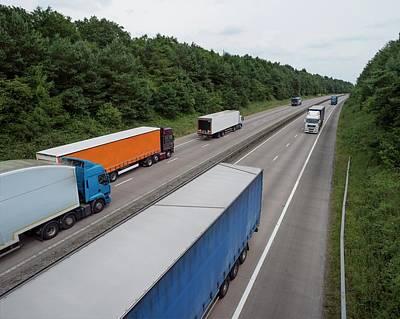 Road Freight Art Print