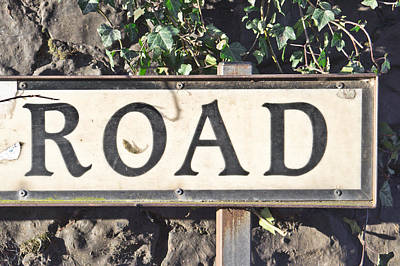 Hampstead Photograph - Road Sign by Tom Gowanlock