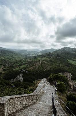 Photograph - Italian Landscape - Road To Heaven by Andrea Mazzocchetti