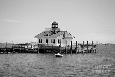 Photograph - Roanoke Marsh Lighthouse by Bob Sample