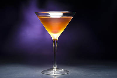 Photograph - Rob Roy Cocktail by U Schade