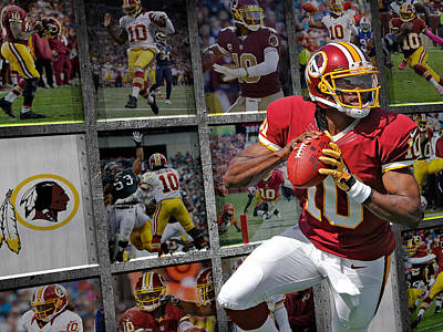 Rg3 Photograph - Robert Griffin Rg3 Washington Redskins by Joe Hamilton