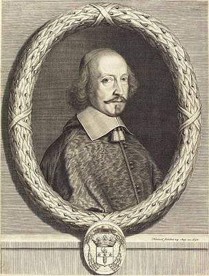 Robert Nanteuil French, 1623 - 1678, Cardinal Jules Mazarin Art Print