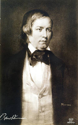 Robert Schumann (1810-1856) Art Print by Granger