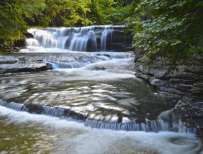Finger Lakes Photograph - Robert Treman State Park by Frozen in Time Fine Art Photography