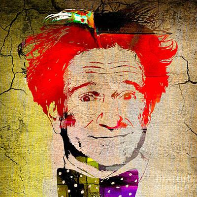 Robin Williams Art Art Print