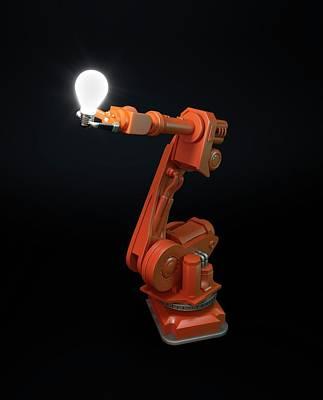 Robotic Equipment Art Print