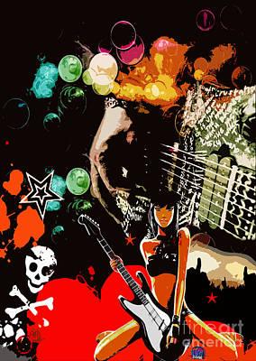 Digital Art - Rock by Mundo Arte