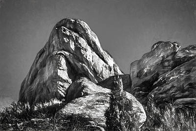 Photograph - Colorado - Boulders - Landscape - Rock Of Ages by Barry Jones