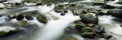 Rocks In A River, Little Pigeon River Art Print