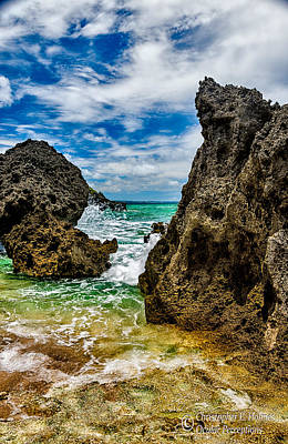 Photograph - Rocky Coast by Christopher Holmes
