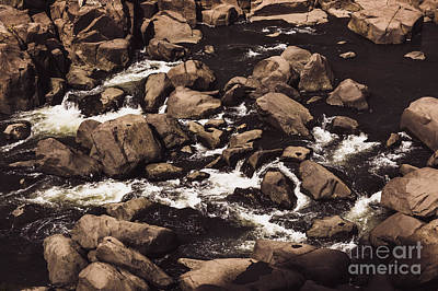 Photograph - Rocky Launceston River From Cataract Gorge by Jorgo Photography - Wall Art Gallery