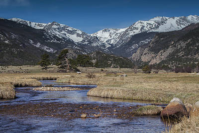 Photograph - Rocky Mountain Stream by Amber Kresge