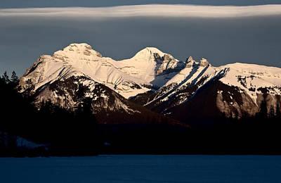 Unicorn Dust - Rocky Mountains in Winter by Mark Duffy