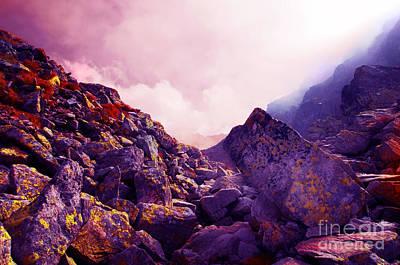 Photograph - Rocky Mountains Landscape by Michal Bednarek