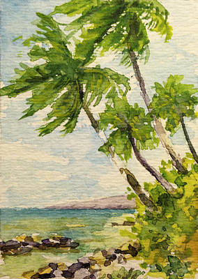 Haleiwa Painting - Rocky Point by Stacy Vosberg