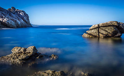 Photograph - Rocky Seafront by Gary Gillette