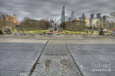 Rocky Steps Art Print by Shawn Dechant