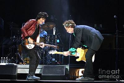 Keith Richards Photograph - Rolling Stones by Concert Photos