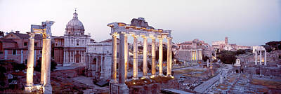 Corinthian Photograph - Roman Forum, Rome, Italy by Panoramic Images