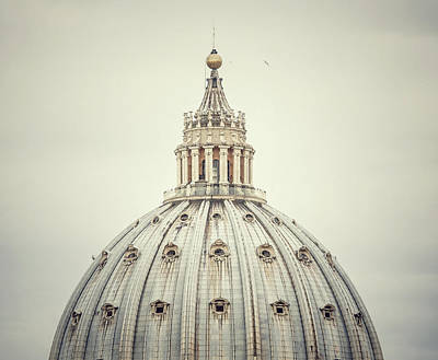 Photograph - Rome Dome Detail by Piola666