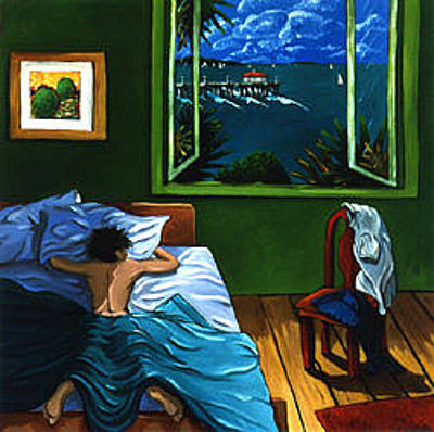 Painting - Room With A View by Lance Headlee