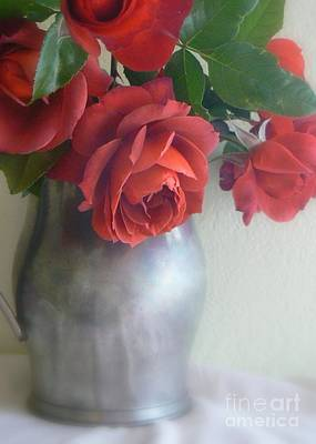 Photograph - Roses Are Red by Diana Besser