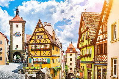 Rothenburg Photograph - Rothenburg Ob Der Tauber by JR Photography