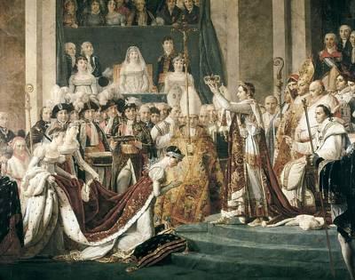 Rouget, Georges 1784-1869 David Art Print