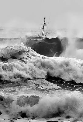 Photograph - Rough Sea Training by Dale Stillman